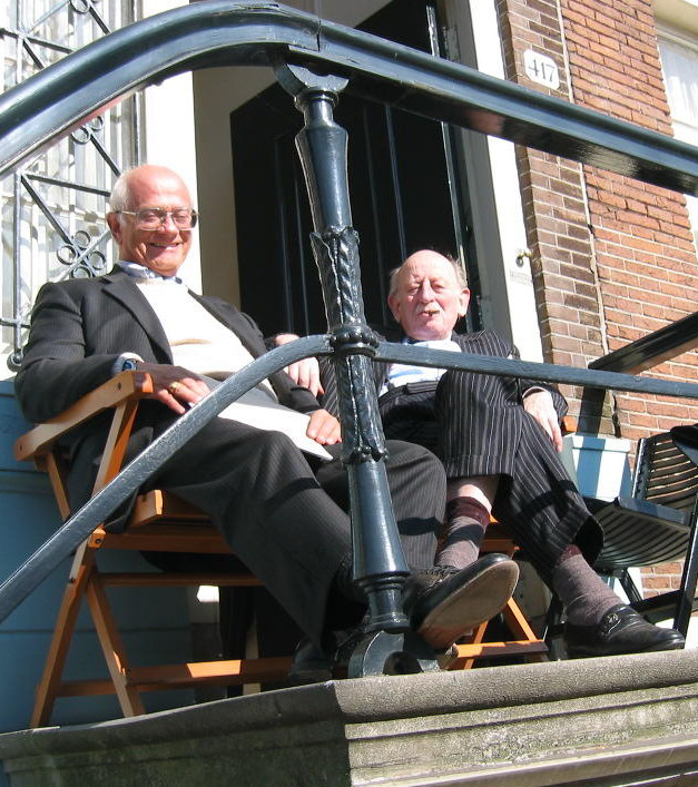Lodewijk Houthakker and George Abrams, 7 March 2003