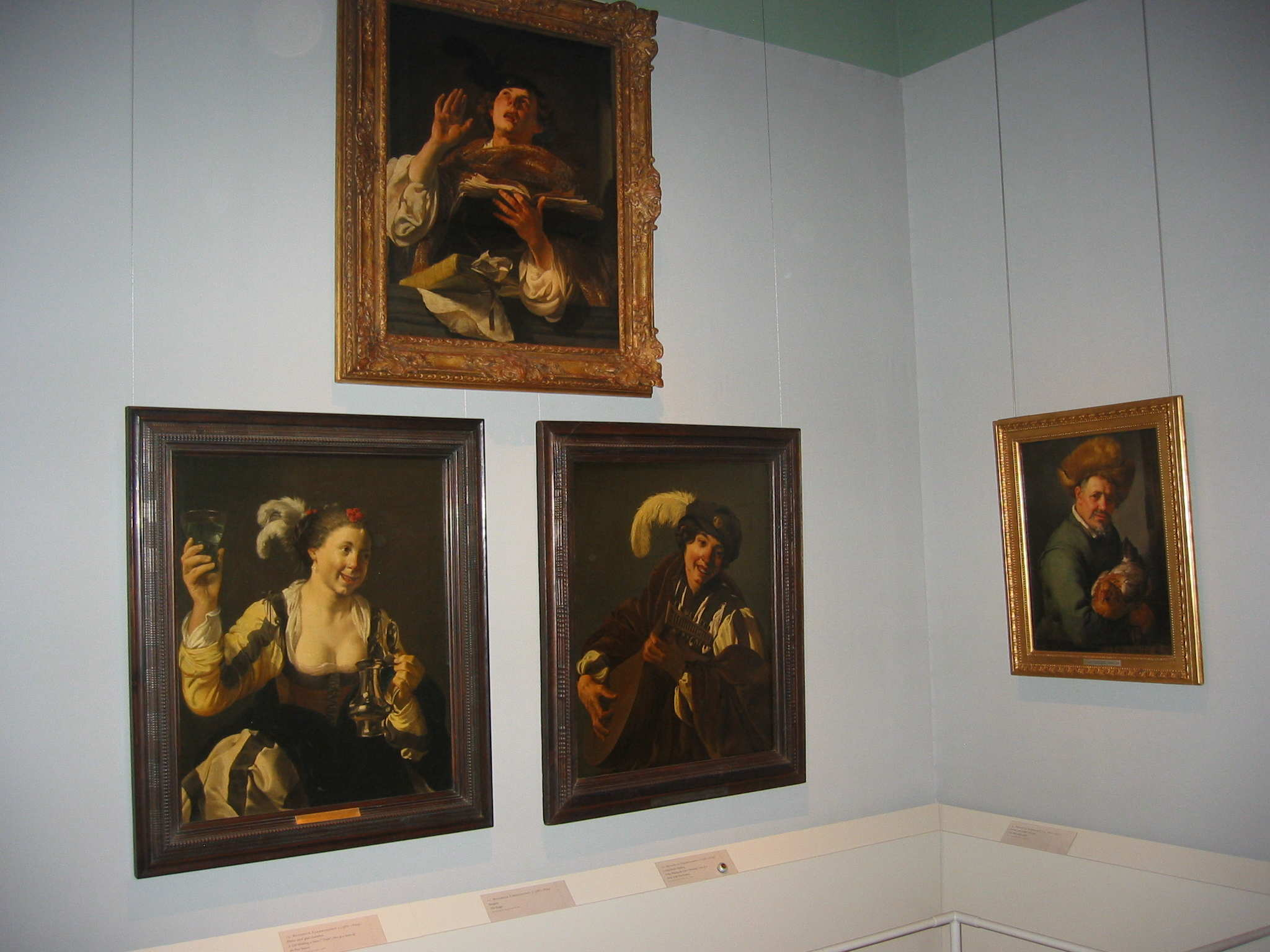 First gallery in Dutch painting exhibition in Nationalmuseum, Stockholm, 2005