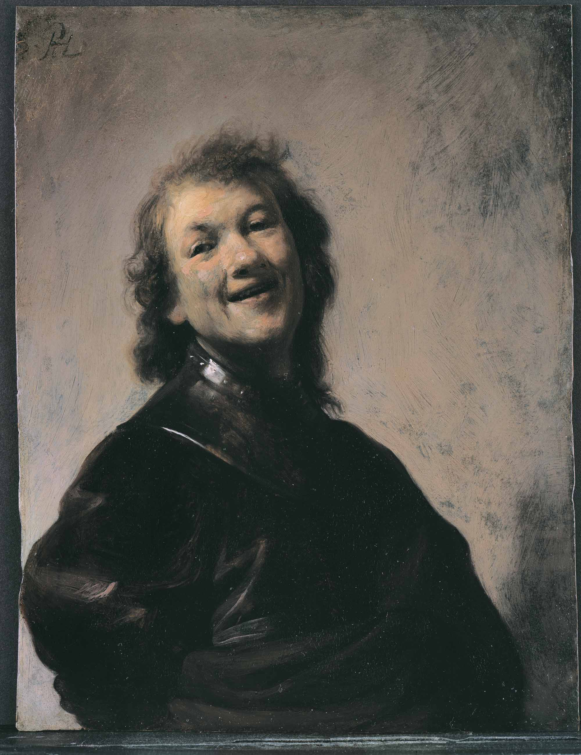 the cotswolds rembrandt gary schwartz art historian self portrait of rembrandt laughing owner unidentified