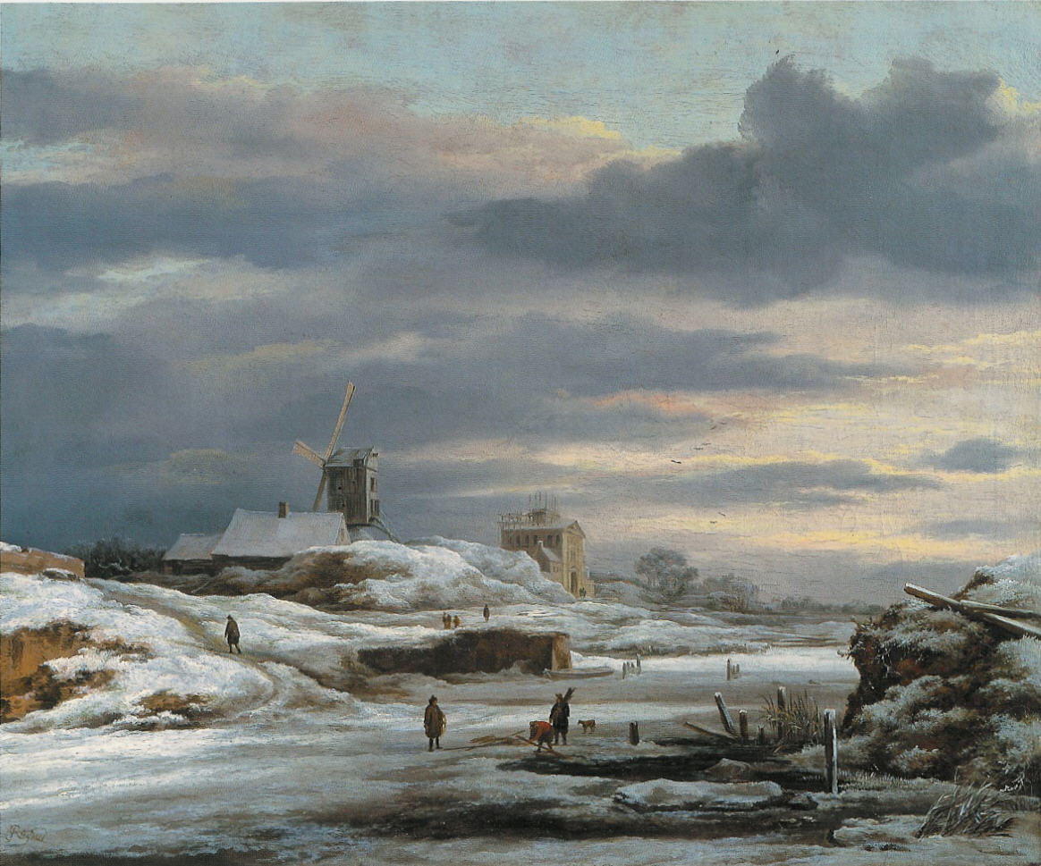 Jacob van Ruisdael, Winter, private collection
