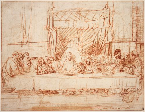 Core List Of Rembrandt Drawings Section 1 Signed